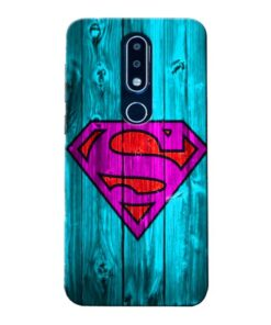 SuperMan Nokia 6.1 Plus Mobile Cover