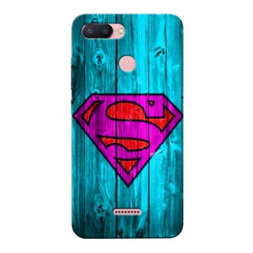 SuperMan Xiaomi Redmi 6 Mobile Cover