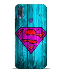 SuperMan Xiaomi Redmi Note 7 Mobile Cover