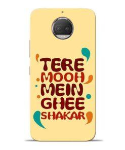 Tere Muh Mein Ghee Moto G5s Plus Mobile Cover