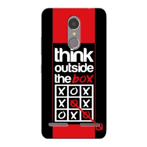 Think Outside Lenovo K6 Power Mobile Cover