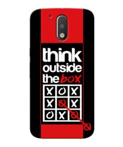Think Outside Moto G4 Mobile Cover