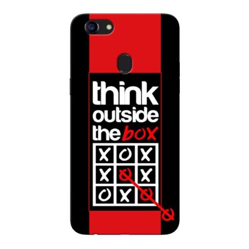 Think Outside Oppo F5 Mobile Cover
