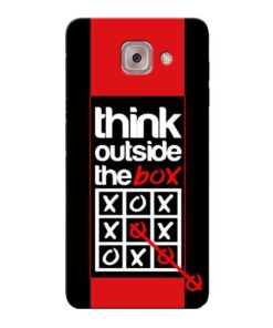 Think Outside Samsung Galaxy J7 Max Mobile Cover