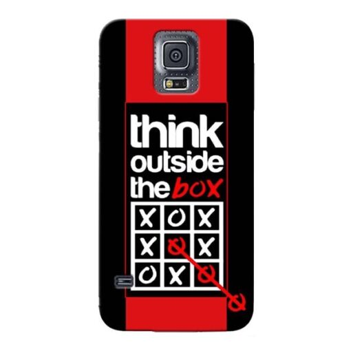 Think Outside Samsung Galaxy S5 Mobile Cover