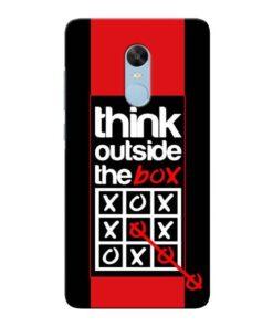 Think Outside Xiaomi Redmi Note 4 Mobile Cover