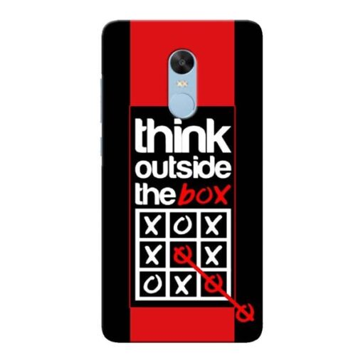 Think Outside Xiaomi Redmi Note 4 Mobile Cover