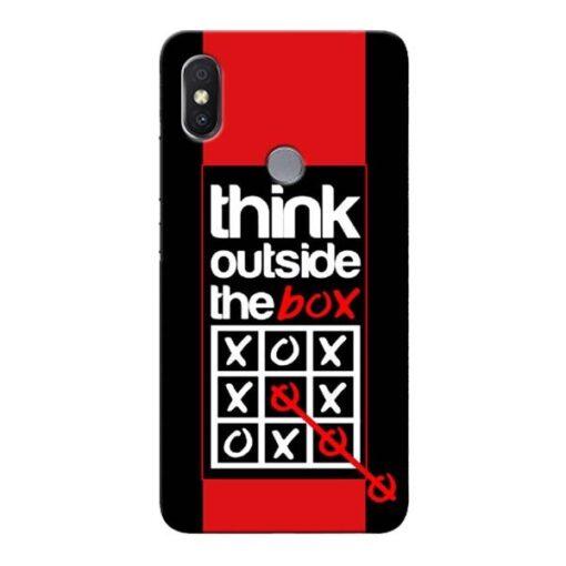 Think Outside Xiaomi Redmi S2 Mobile Cover