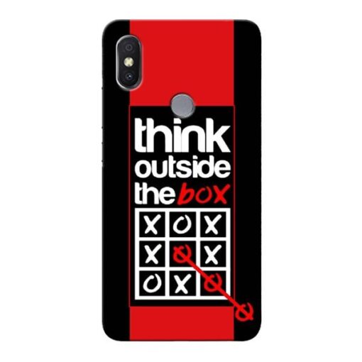 Think Outside Xiaomi Redmi Y2 Mobile Cover