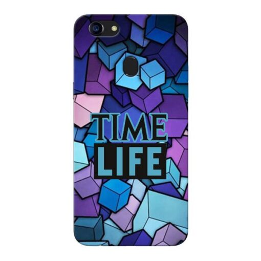 Time Life Oppo F5 Mobile Cover