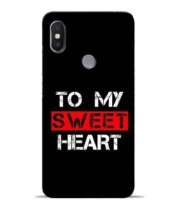 To My Sweet Heart Redmi S2 Mobile Cover