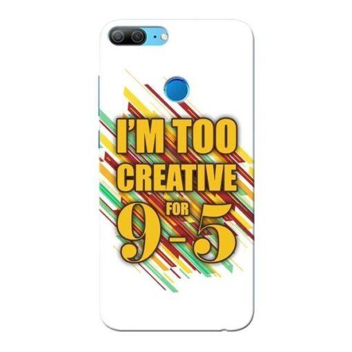 Too Creative Honor 9 Lite Mobile Cover