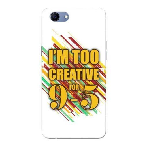Too Creative Oppo Realme 1 Mobile Cover