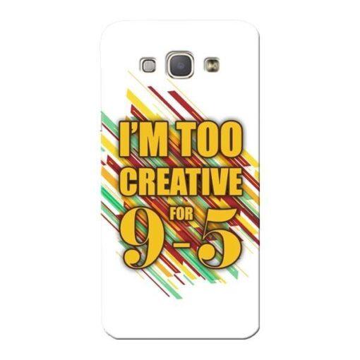 Too Creative Samsung Galaxy A8 2015 Mobile Cover