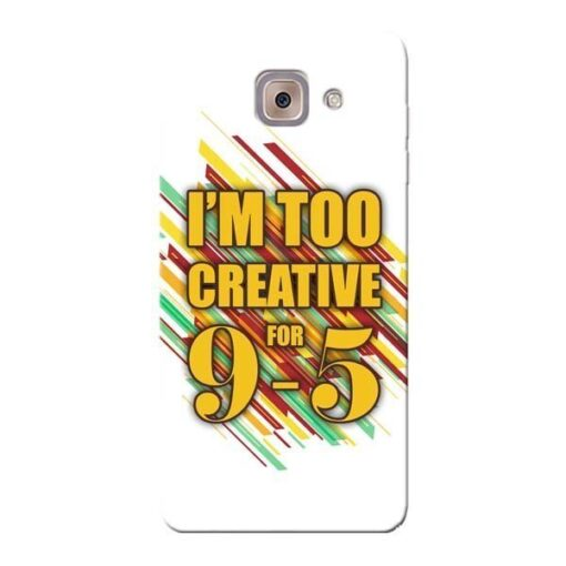 Too Creative Samsung Galaxy J7 Max Mobile Cover