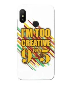 Too Creative Xiaomi Redmi 6 Pro Mobile Cover