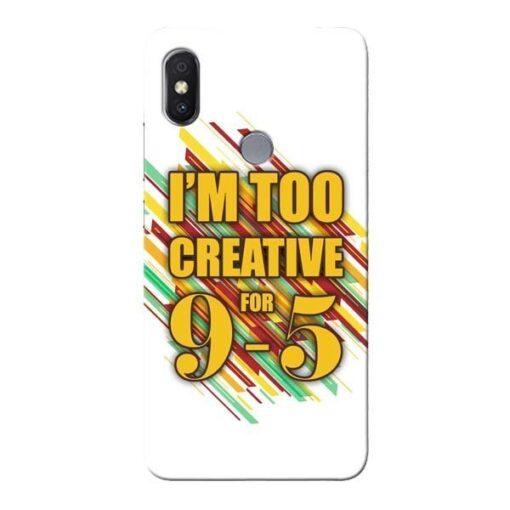 Too Creative Xiaomi Redmi Y2 Mobile Cover