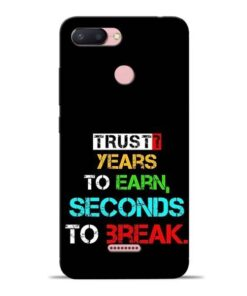 Trust Years To Earn Redmi 6 Mobile Cover
