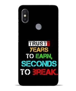 Trust Years To Earn Redmi S2 Mobile Cover