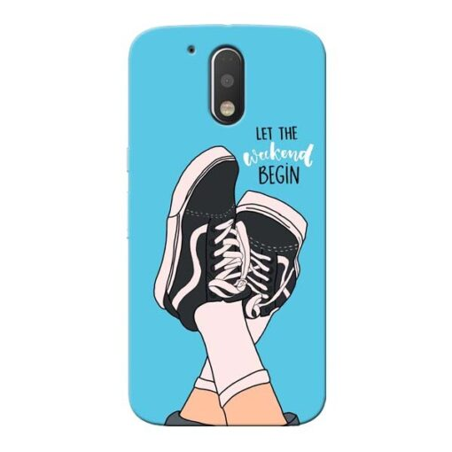 Weekend Moto G4 Plus Mobile Cover