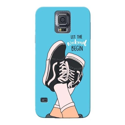 Weekend Samsung Galaxy S5 Mobile Cover