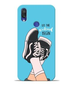 Weekend Xiaomi Redmi Note 7 Mobile Cover