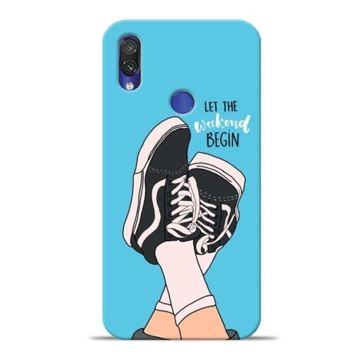 Weekend Xiaomi Redmi Note 7 Pro Mobile Cover