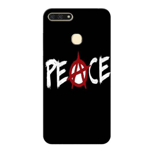 White Peace Honor 7A Mobile Cover