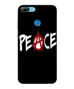 White Peace Honor 9 Lite Mobile Cover