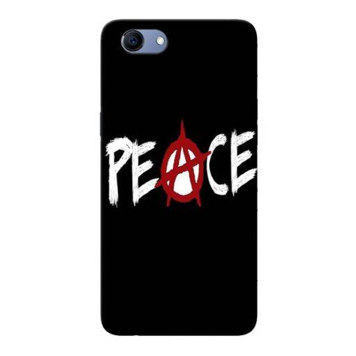 White Peace Oppo Realme 1 Mobile Cover