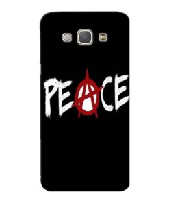 White Peace Samsung Galaxy A8 2015 Mobile Cover