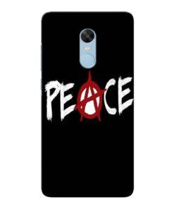 White Peace Xiaomi Redmi Note 4 Mobile Cover