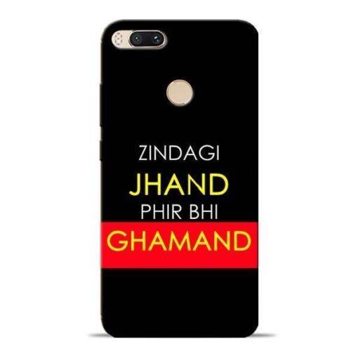 Zindagi Jhand Mi A1 Mobile Cover