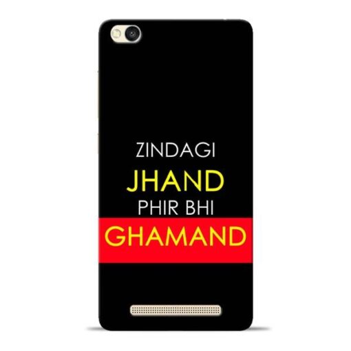 Zindagi Jhand Redmi 3s Mobile Cover