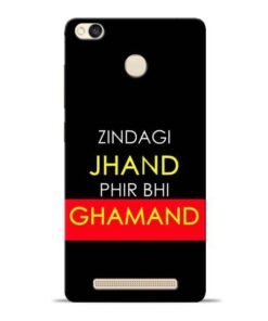 Zindagi Jhand Redmi 3s Prime Mobile Cover