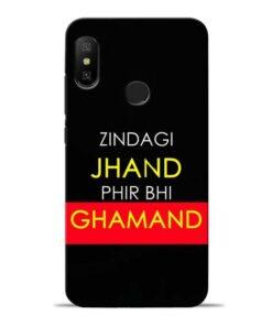 Zindagi Jhand Redmi 6 Pro Mobile Cover