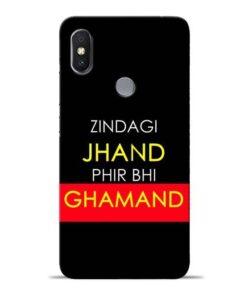 Zindagi Jhand Redmi S2 Mobile Cover