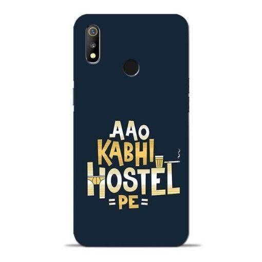 Aao Kabhi Hostel Pe Oppo Realme 3 Mobile Cover