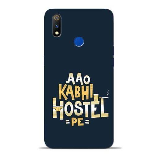 Aao Kabhi Hostel Pe Oppo Realme 3 Pro Mobile Cover
