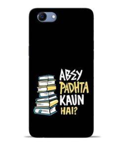 Abey Padhta Koun Oppo Realme 1 Mobile Cover