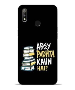 Abey Padhta Koun Oppo Realme 3 Mobile Cover
