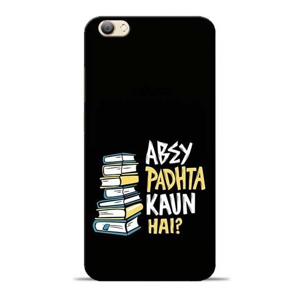 buy popular 4c45d d7970 Abey Padhta Koun Vivo V5s Mobile Cover