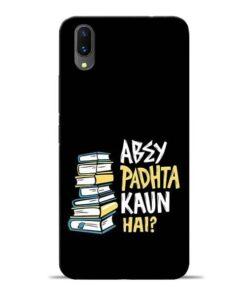 Abey Padhta Koun Vivo X21 Mobile Cover