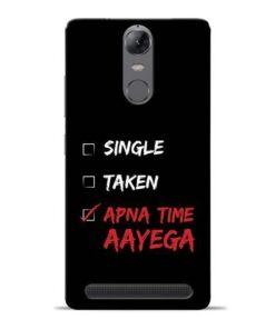 Apna Time Aayega Lenovo Vibe K5 Note Mobile Cover