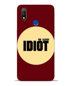 Clever Idiot Oppo Realme 3 Pro Mobile Cover