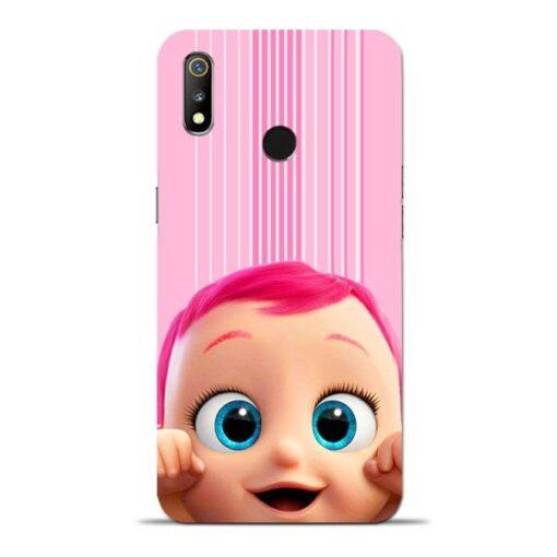 Cute Baby Oppo Realme 3 Mobile Cover
