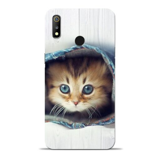 Cute Cat Oppo Realme 3 Mobile Cover