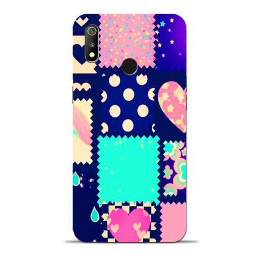 Cute Girly Oppo Realme 3 Mobile Cover