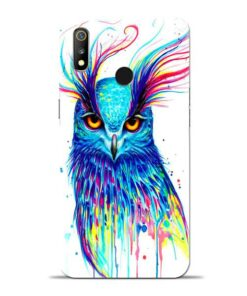 Cute Owl Oppo Realme 3 Mobile Cover
