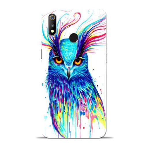 Cute Owl Oppo Realme 3 Mobile Cover